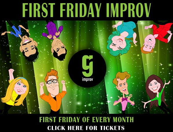 First Friday Improv with GreenRoom