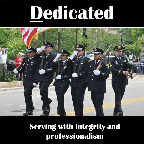 EPD is Dedicated - Serving with integrity and professionalism