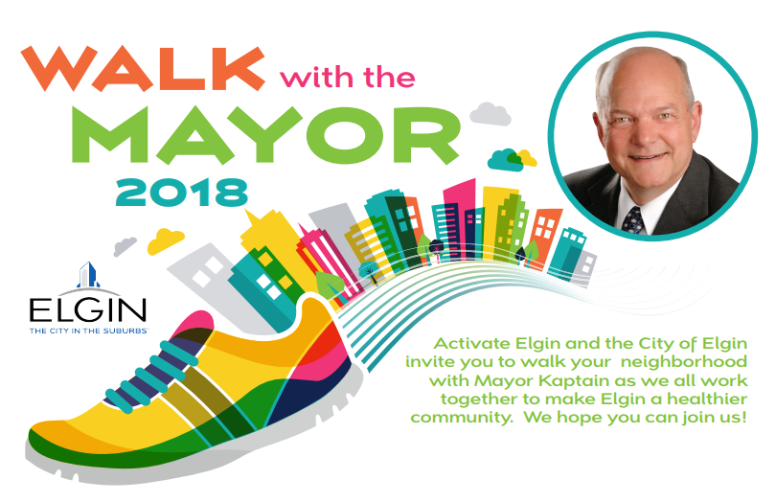 Walk with Mayor - Join the Mayor for a walk around different neighborhoods this summer.