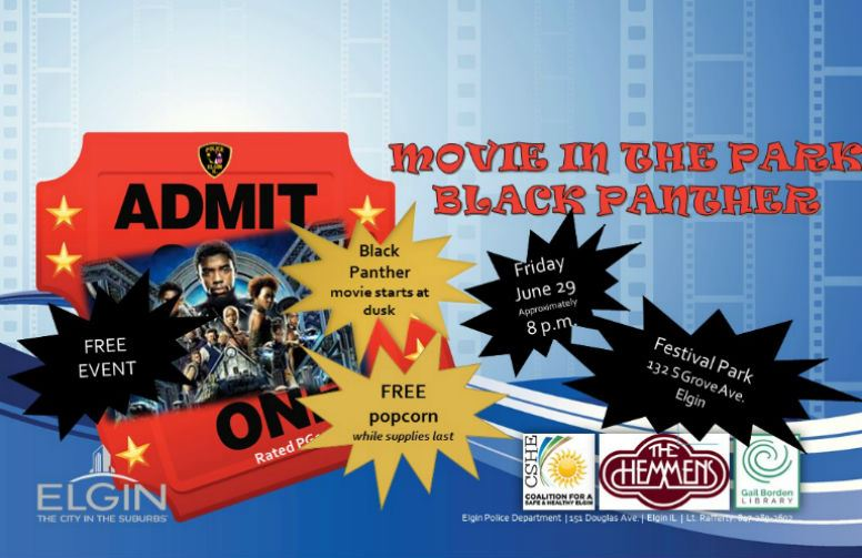 Black Panther - Movie in the Park