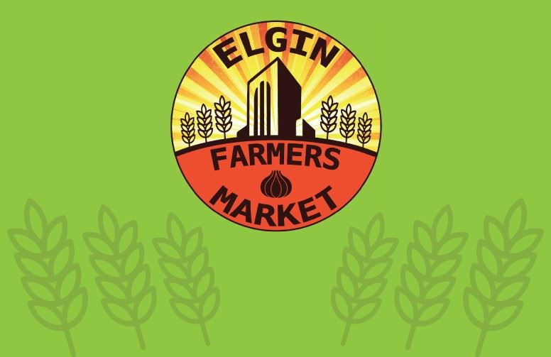 2018 Elgin Farmers Market, every Friday from 3 to 7 p.m. through October 5, 2018.