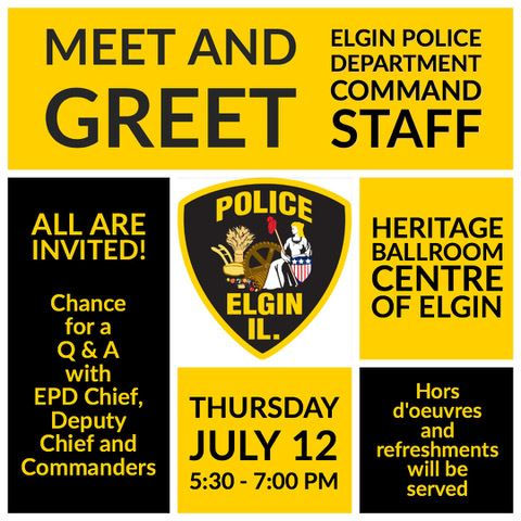EPD Meet and Greet invitation