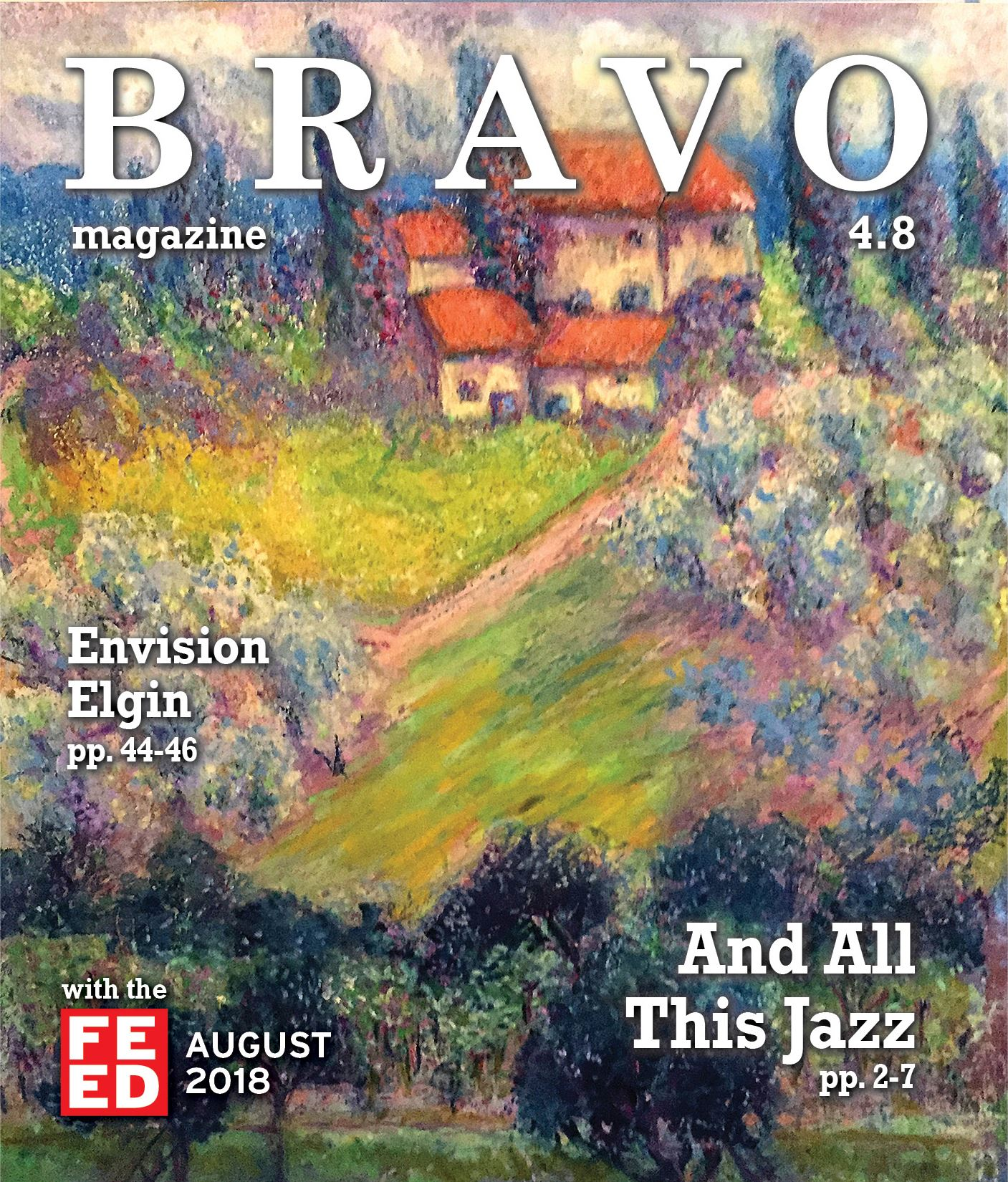 August cover of BRAVO Magazine