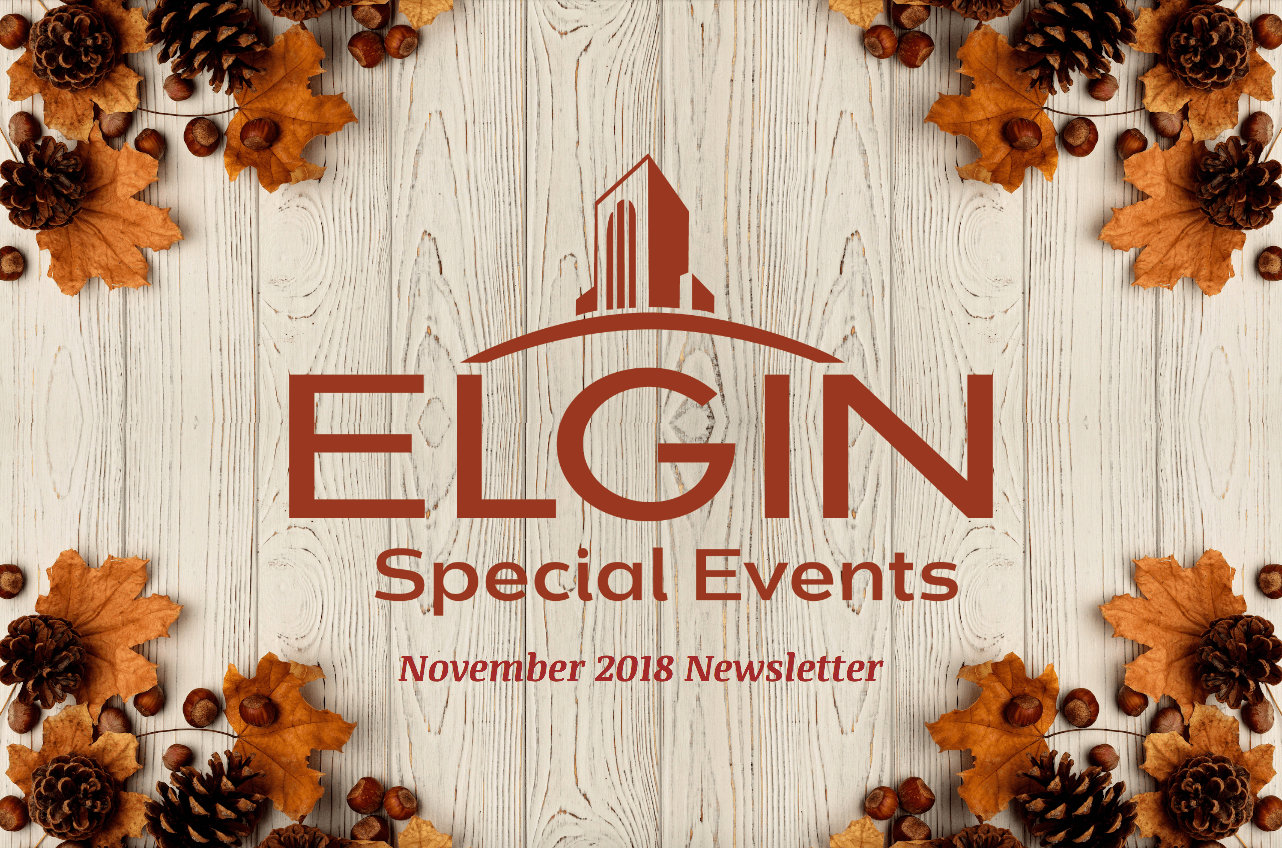 Nov Special Events Newsletter Cover- fall theme
