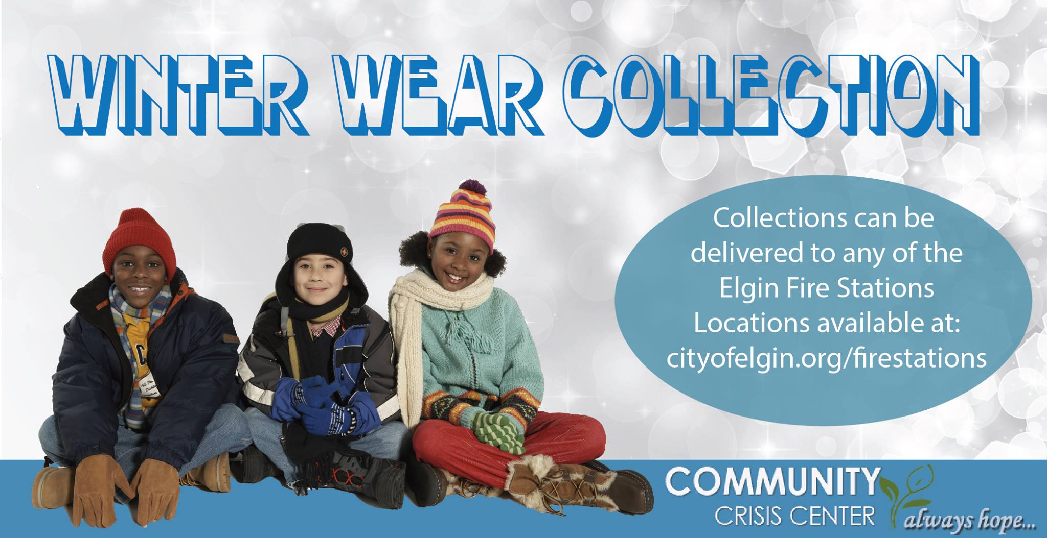 Winter Wear Collection for Community Crisis Center