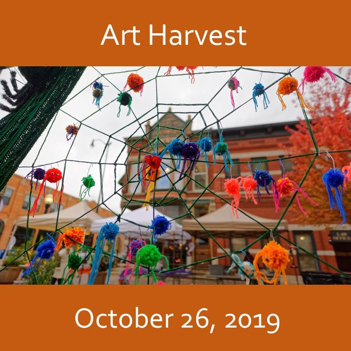 Art Harvest icon-2019. spider web image