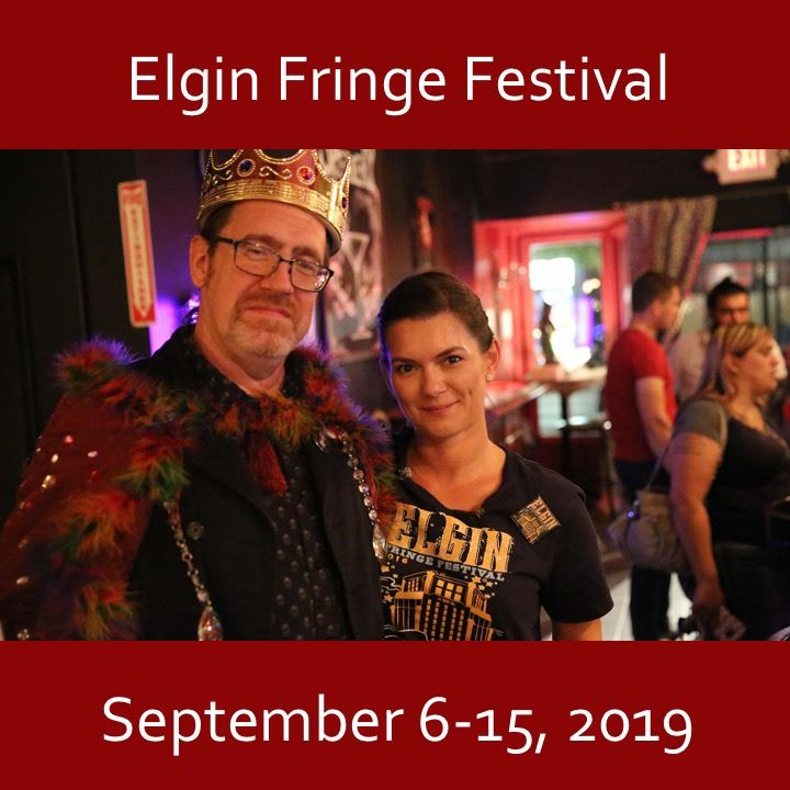 Elgin Fringe Festival icon-2019. fringe king image