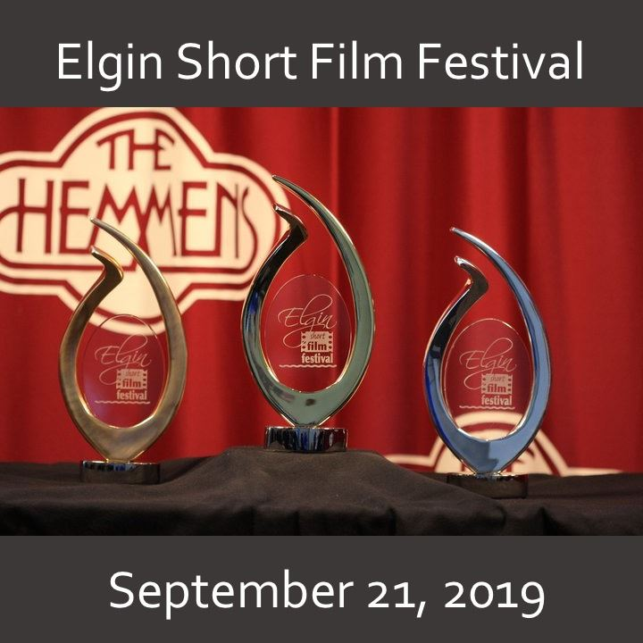 Elgin Short Film Festival icon-2019 award image.