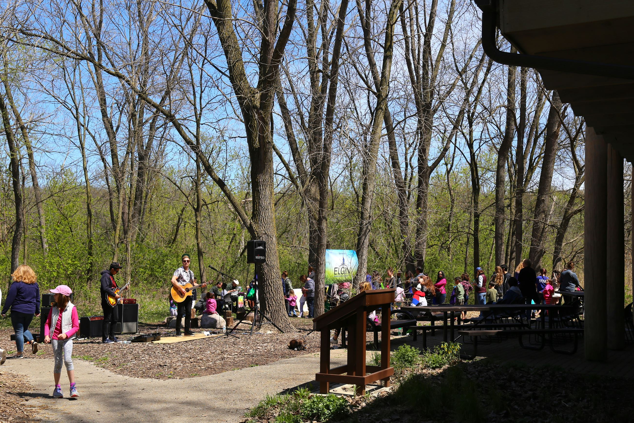 Earth Day celebration 2018, live music