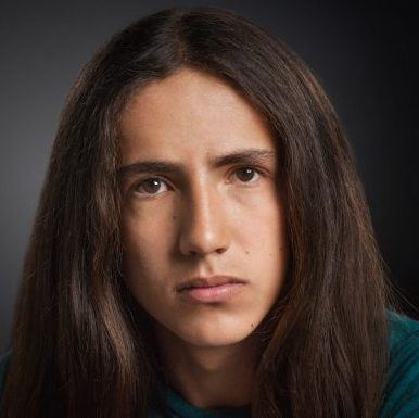 headshot photo of Xiuhtezcatl Martinez