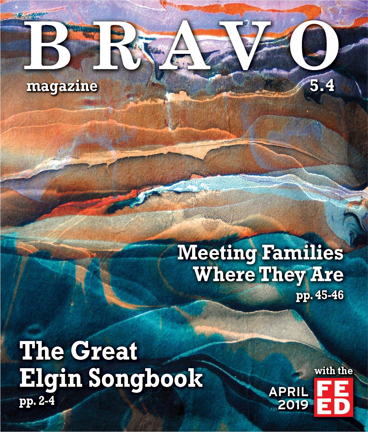 Bravo, April 2019 Cover. Landscape