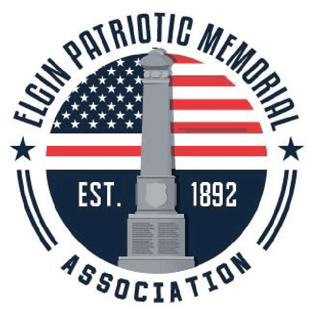 Elgin Patriotic Memorial Association logo