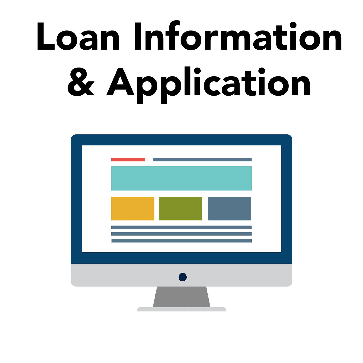 Click here to read about the loan information and access the application