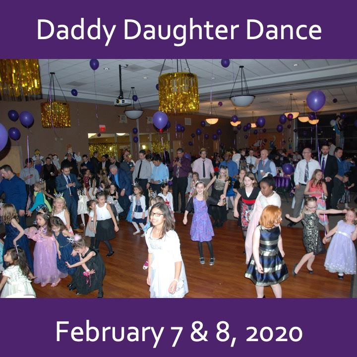 Daddy Daughter Dance 2020 Icon. Image of children dancing