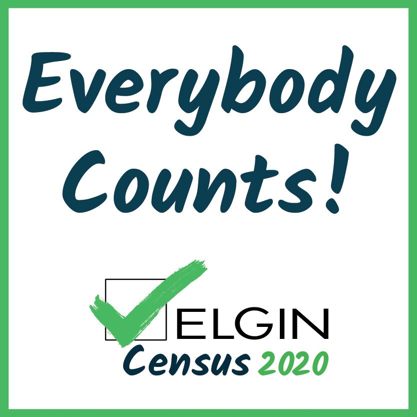 Everybody Counts in the Elgin Census 2020