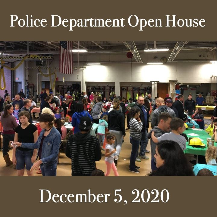 PD open house 2020. crowd scene