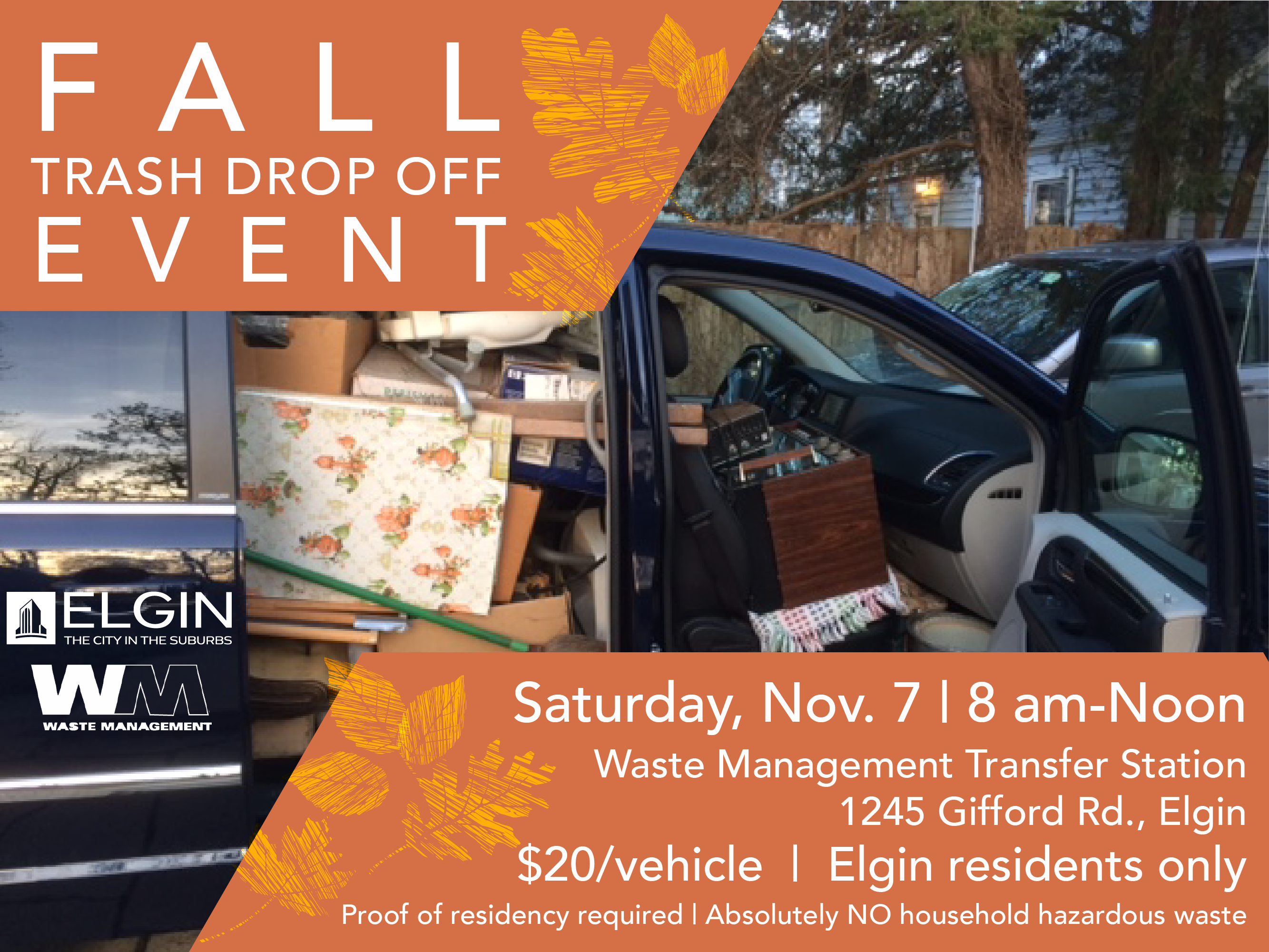 11.7.20 Trash DropOff Event