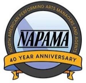 NAPAMA_Logo. White, blue and yellow Opens in new window