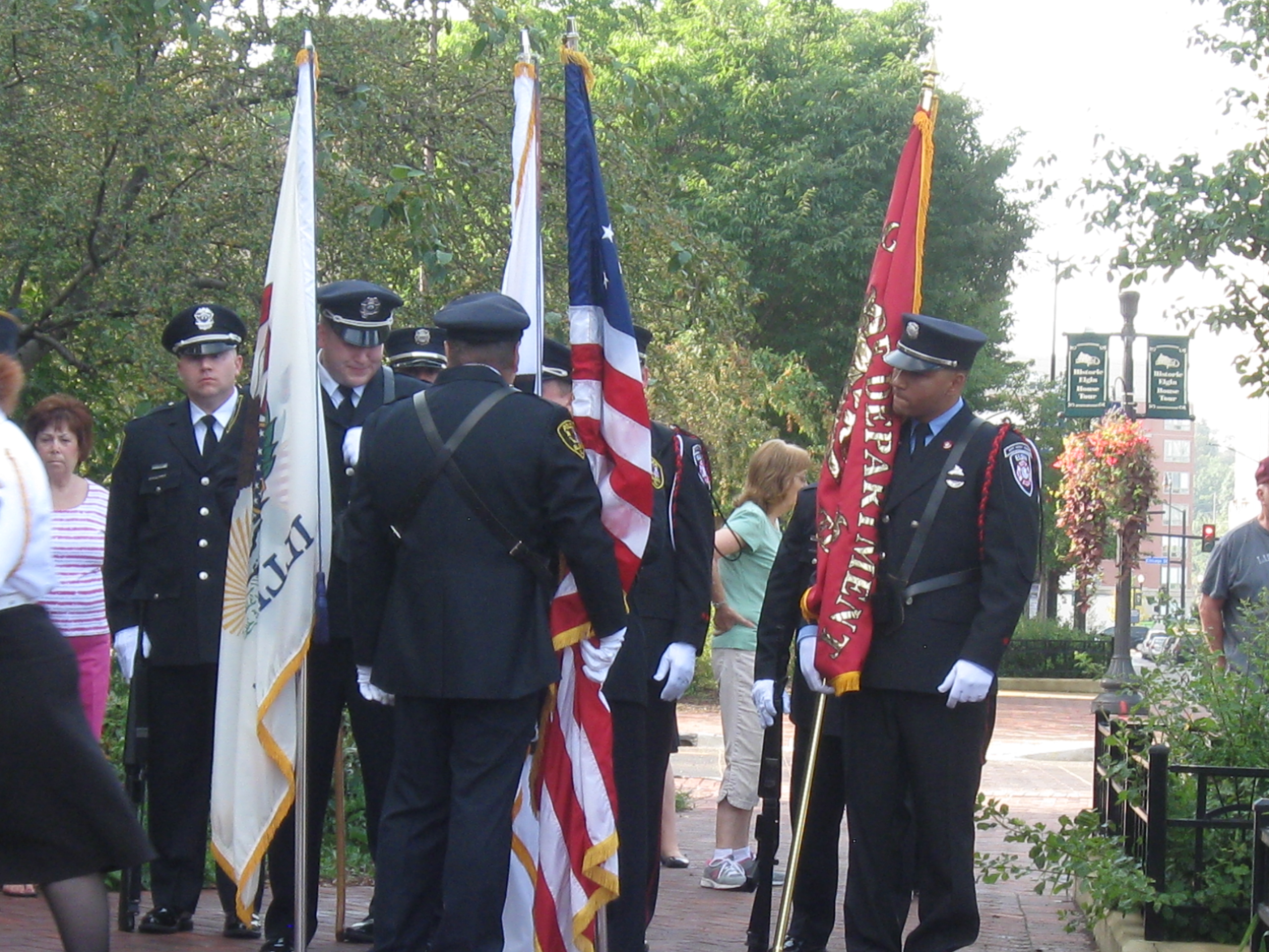2013 Ceremony Honoring September 11th