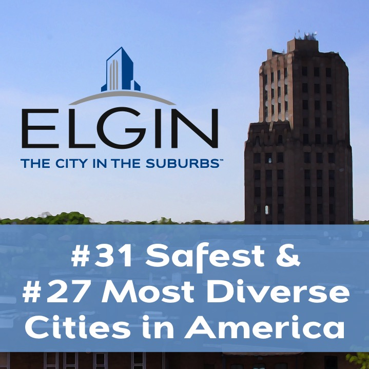 Elgin ranked in top diverse and safest cities
