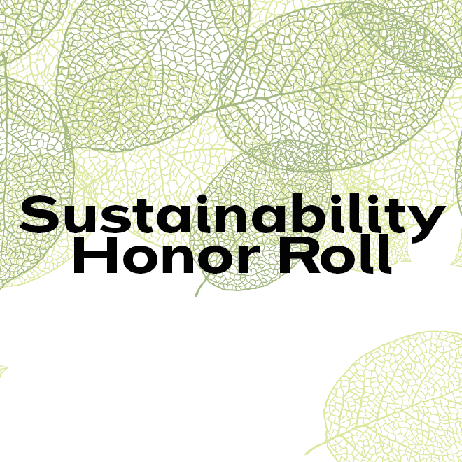 Sustainability Honor Roll