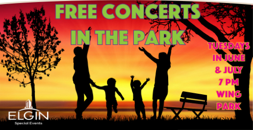 Free Concerts in Wing Park