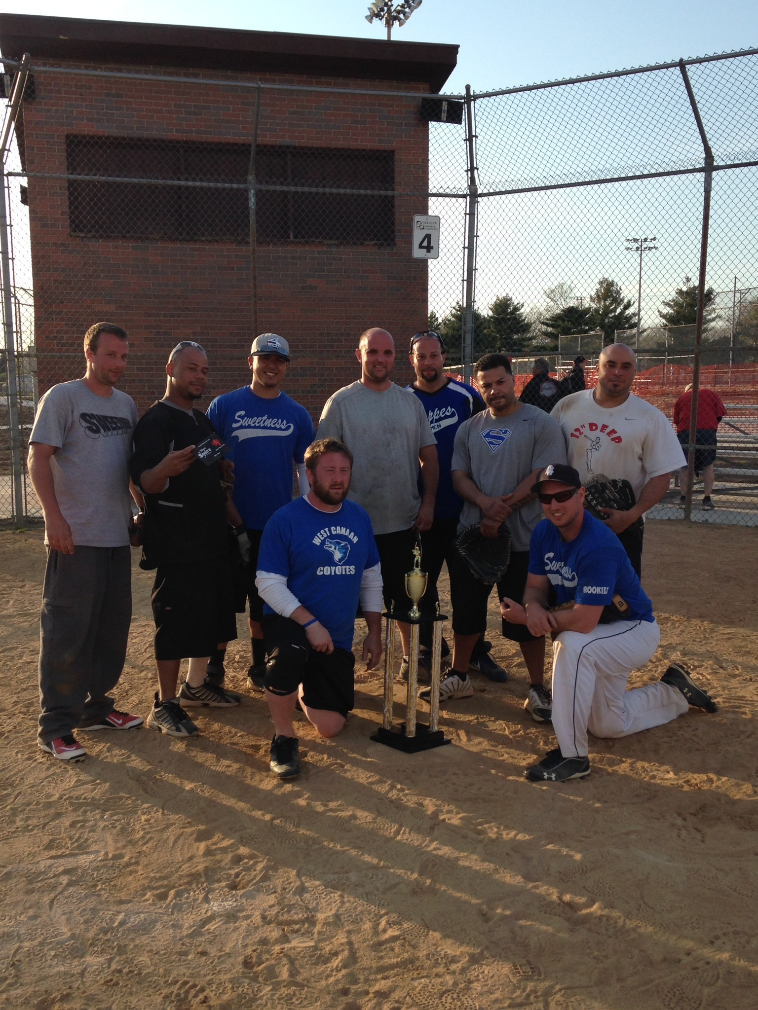 Sweetness - 2015 Early Out Softball Champions