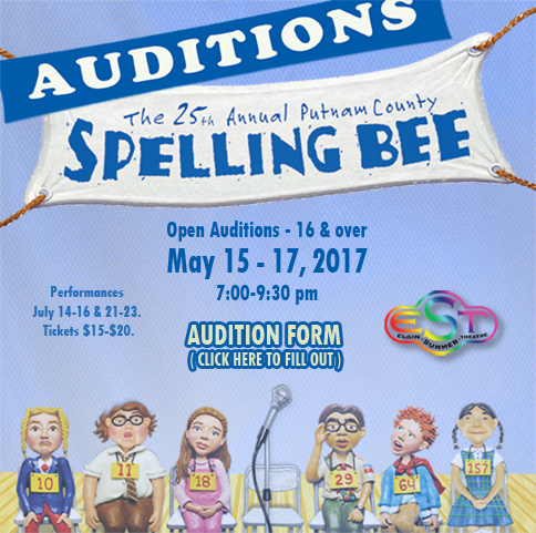 Spelling Bee Auditions