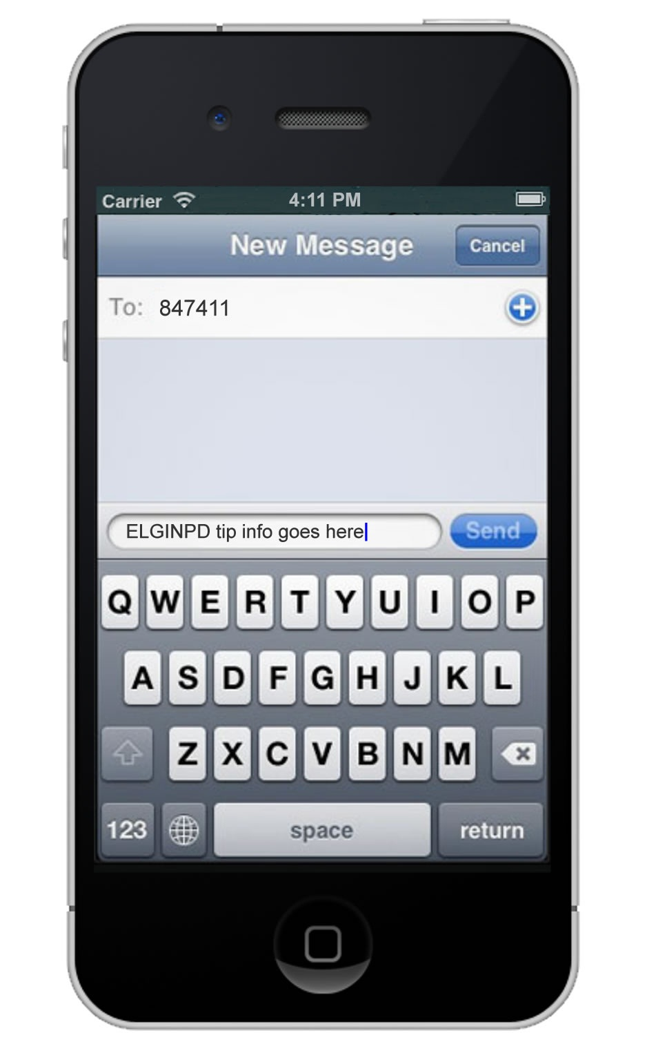 python how to send a text to phonw