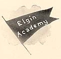 Elgin Academy flag